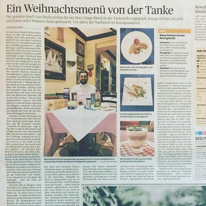Franzoesisches Restaurant Ratatouille Duesseldorf